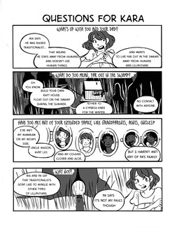 "7"" Kara - Volume 1 - QandAComic - Page 5"